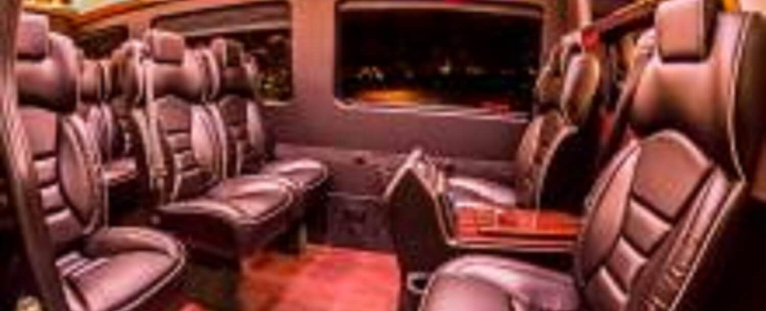 Interior of Luxury Mountain Transportation - Featured Image Version