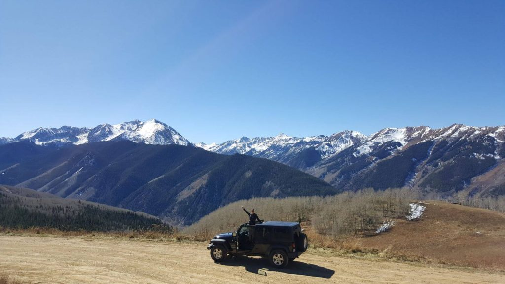 Off-Roading on the Back of Aspen Mountains