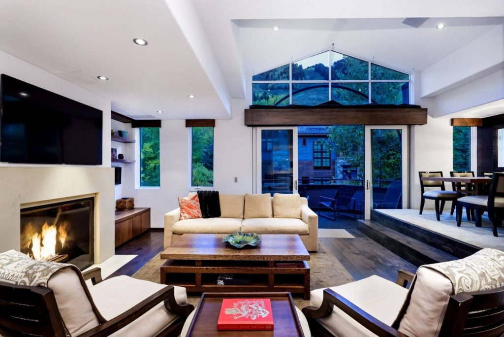 Contemporary Townhome - Downtown Aspen Rental