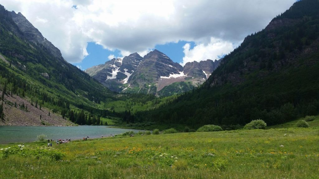 Maroon Bells Valley View