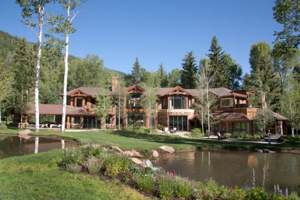 Aspen Home Rental on Independence Pass