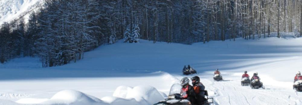 Snowmobiling - Banner