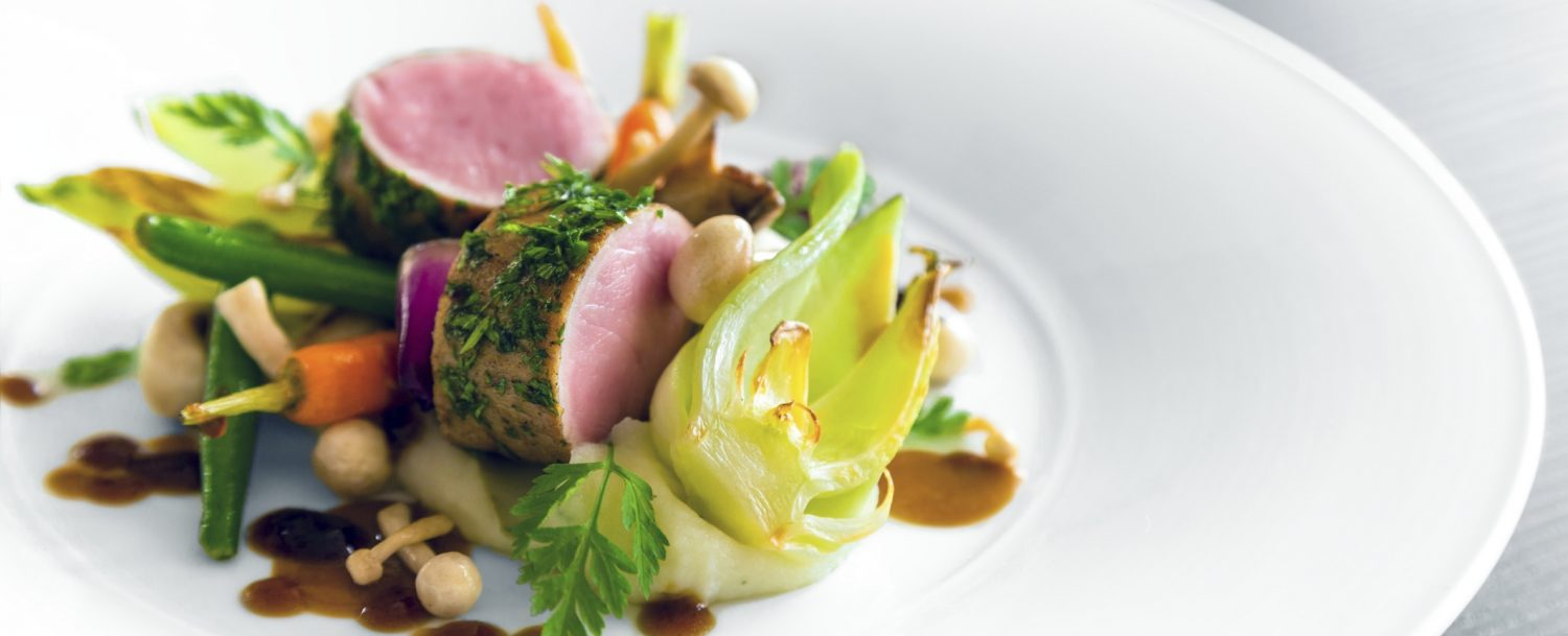 Delicious gourmet food at the Aspen Food and Wine Classic